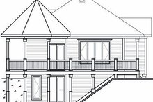 Cottage Exterior - Rear Elevation Plan #23-847