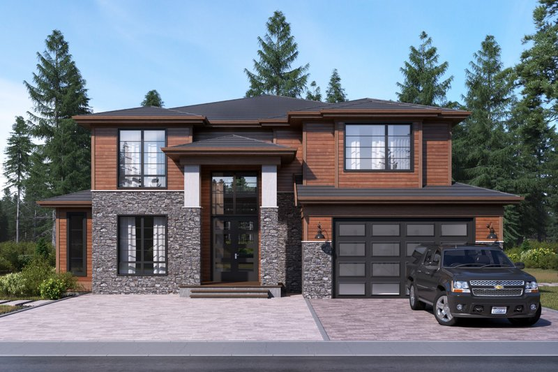 Traditional Exterior - Front Elevation Plan #1066-93