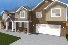Traditional Exterior - Front Elevation Plan #1060-18