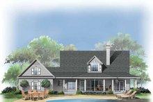 Dream House Plan - Victorian Exterior - Rear Elevation Plan #929-289