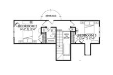 Traditional Floor Plan - Upper Floor Plan Plan #137-361