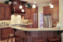 Home Plan - Classical Interior - Kitchen Plan #137-312