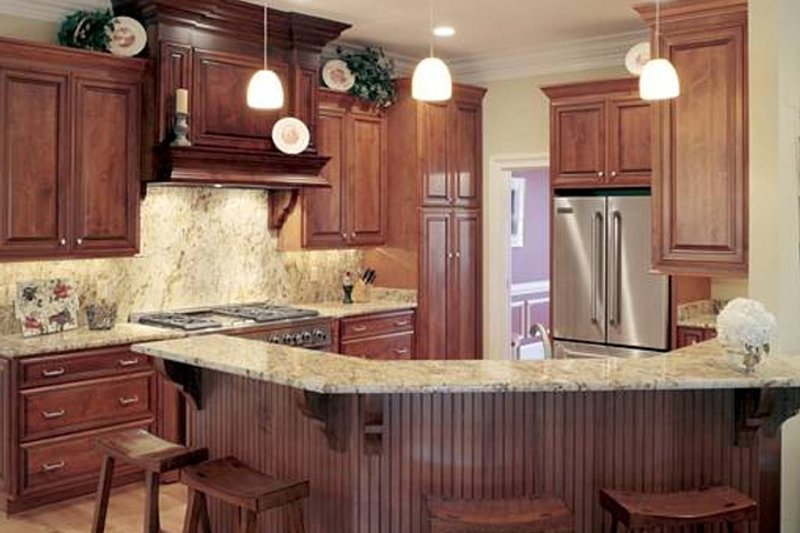 Classical Interior - Kitchen Plan #137-312 - Houseplans.com