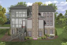 Traditional Exterior - Rear Elevation Plan #56-680