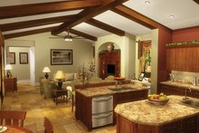 Mediterranean Interior - Kitchen Plan #930-434