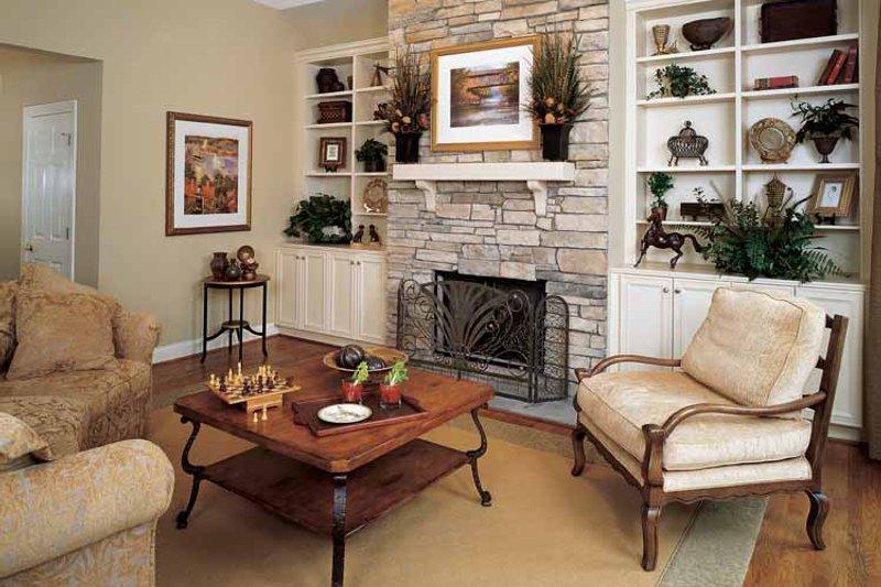 Craftsman Interior - Family Room Plan #929-650 - Houseplans.com