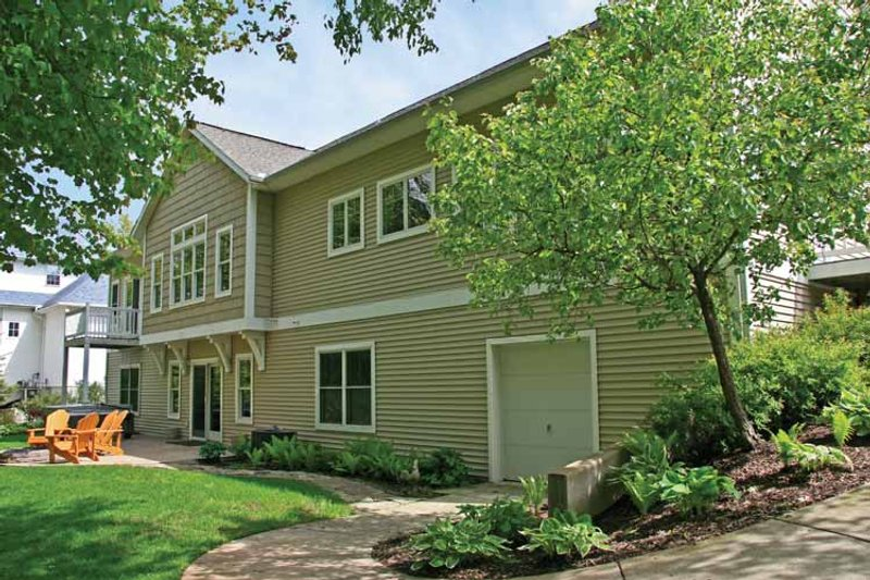 Craftsman Exterior - Rear Elevation Plan #928-200 - Houseplans.com