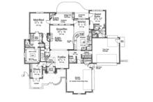 European Floor Plan - Main Floor Plan Plan #310-1276