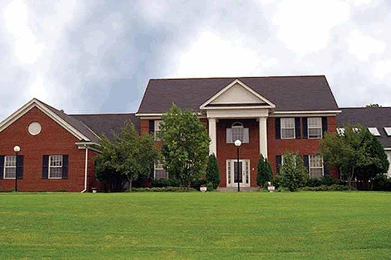 Classical Exterior - Front Elevation Plan #51-787 - Houseplans.com