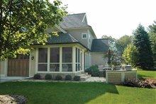 House Plan Design - Traditional Exterior - Rear Elevation Plan #928-107