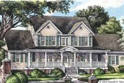 Country Style House Plan - 4 Beds 3.5 Baths 2521 Sq/Ft Plan #929-667 Exterior - Front Elevation