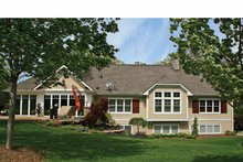 House Plan Design - Craftsman Exterior - Rear Elevation Plan #928-223