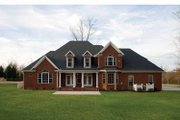 Traditional Style House Plan - 4 Beds 3.5 Baths 3152 Sq/Ft Plan #929-696 Exterior - Rear Elevation