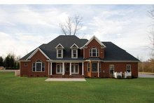 Traditional Exterior - Rear Elevation Plan #929-696