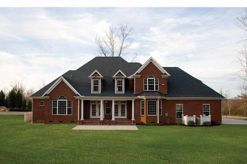 Traditional Exterior - Rear Elevation Plan #929-696 - Houseplans.com