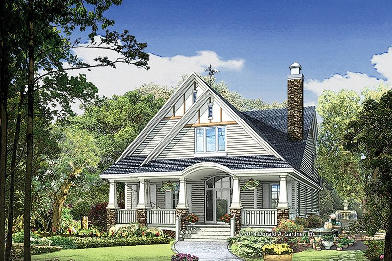Craftsman Exterior - Front Elevation Plan #929-986 - Houseplans.com