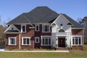 Colonial Style House Plan - 4 Beds 3 Baths 2520 Sq/Ft Plan #119-128 Exterior - Other Elevation