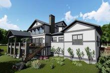 House Plan Design - Left Rear