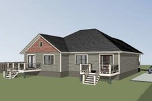 House Plan Design - Traditional Exterior - Other Elevation Plan #79-236