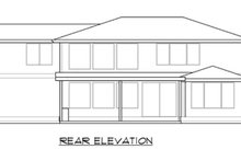 Dream House Plan - Modern Exterior - Rear Elevation Plan #1066-82