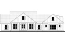 Dream House Plan - Craftsman Exterior - Front Elevation Plan #430-201