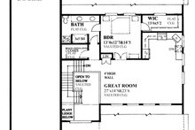 Traditional Exterior - Rear Elevation Plan #118-178