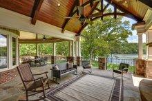 Dream House Plan - Craftsman Exterior - Covered Porch Plan #54-385