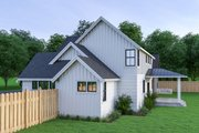 Farmhouse Style House Plan - 3 Beds 2.5 Baths 1974 Sq/Ft Plan #1070-34 Exterior - Other Elevation