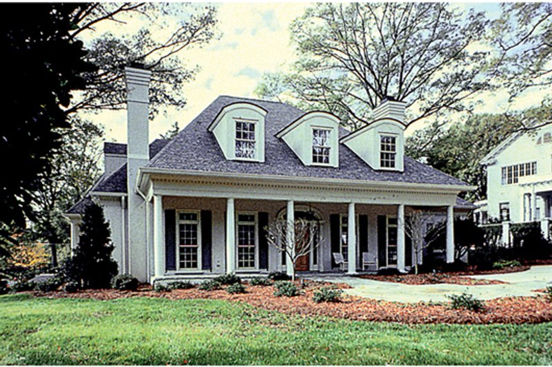 Country Exterior - Front Elevation Plan #453-16 - Houseplans.com