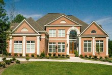 Dream House Plan - European Exterior - Other Elevation Plan #119-129