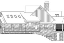 Craftsman Exterior - Other Elevation Plan #929-970