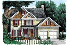 Home Plan - Country Exterior - Front Elevation Plan #927-820