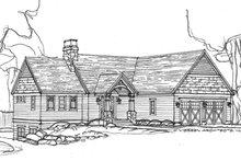 House Design - Ranch Exterior - Front Elevation Plan #928-283