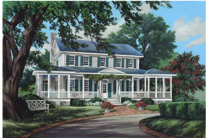 House Plan Design - Traditional Exterior - Front Elevation Plan #137-339
