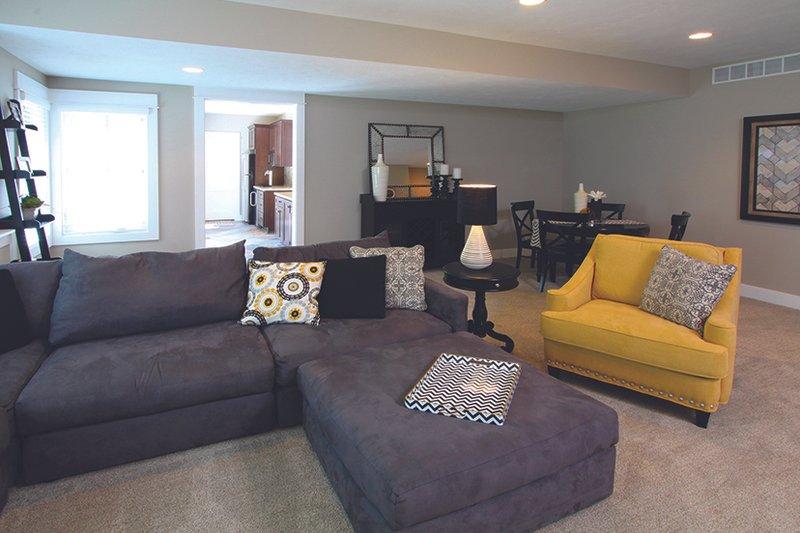 Craftsman Interior - Family Room Plan #928-277 - Houseplans.com