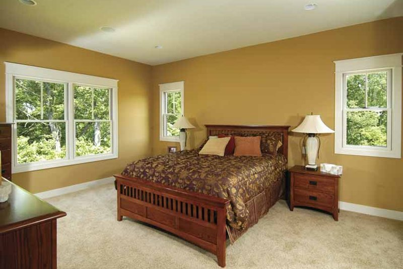 Craftsman Interior - Bedroom Plan #928-88 - Houseplans.com