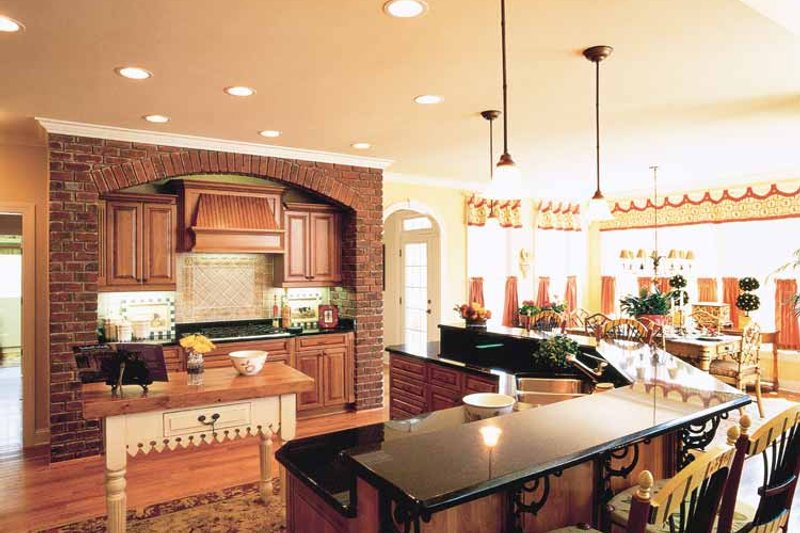 Colonial Interior - Kitchen Plan #927-393 - Houseplans.com