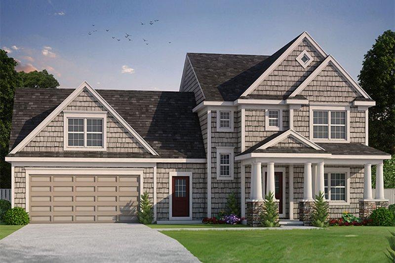 Colonial Exterior - Front Elevation Plan #20-2248 - Houseplans.com