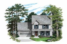 House Design - Country Exterior - Front Elevation Plan #927-49