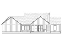 House Design - Farmhouse Exterior - Rear Elevation Plan #1074-31