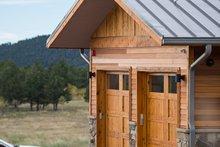 Architectural House Design - Prairie Exterior - Other Elevation Plan #1042-17