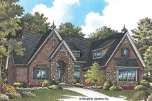 European Exterior - Front Elevation Plan #929-956