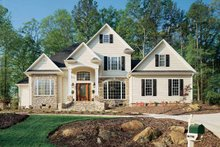 Dream House Plan - Traditional Exterior - Front Elevation Plan #929-321