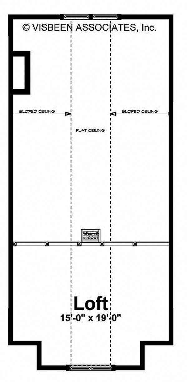 Adobe / Southwestern Floor Plan - Other Floor Plan Plan #928-182