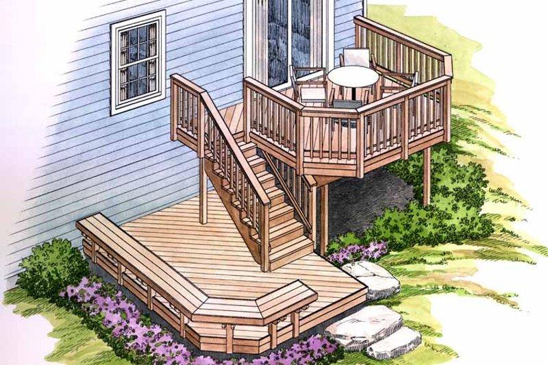 Exterior - Rear Elevation Plan #1006-126 - Houseplans.com