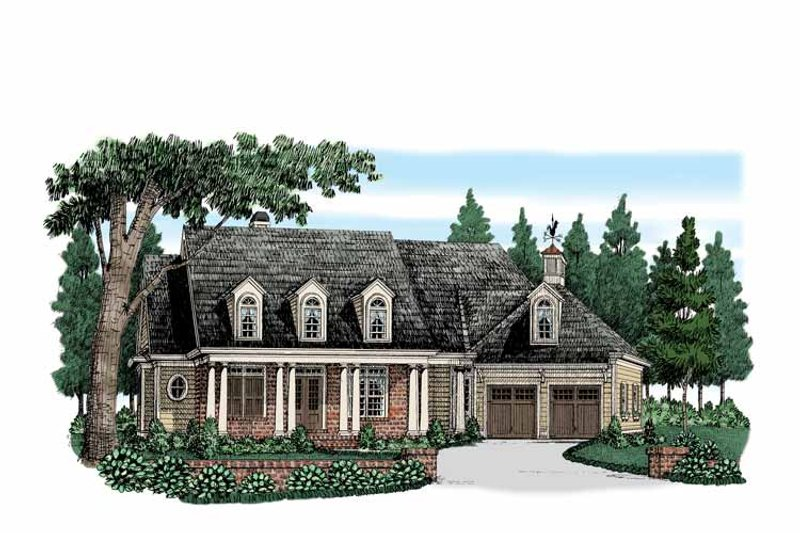 Colonial Exterior - Front Elevation Plan #927-525 - Houseplans.com