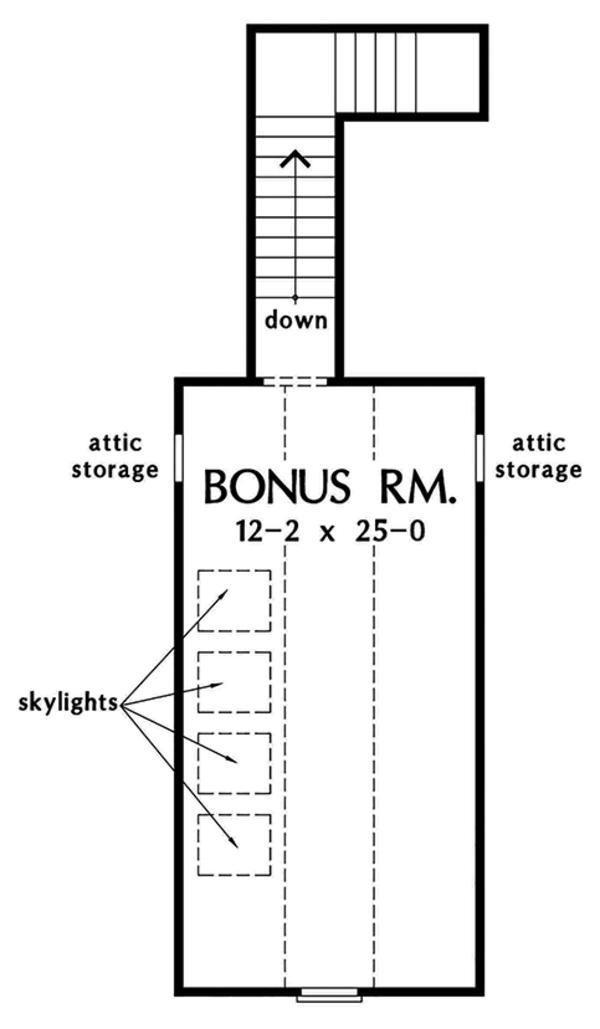 Home Plan - European Floor Plan - Other Floor Plan #929-967