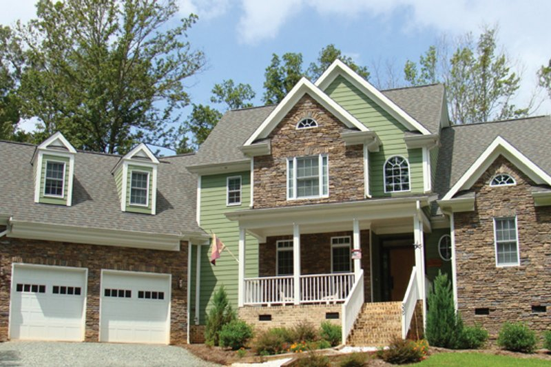 Home Plan - Colonial Exterior - Front Elevation Plan #927-866