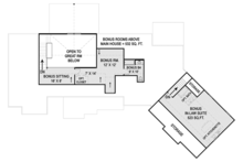 Craftsman Floor Plan - Other Floor Plan Plan #119-426