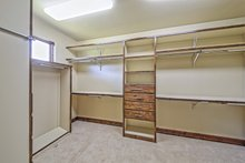 Architectural House Design - Adobe / Southwestern Interior - Master Bedroom Plan #451-25